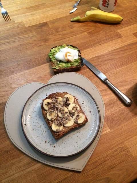 toast-on-a-plate